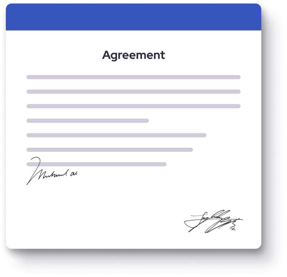 We can sign a confidentiality agreement (NDA) to secure your app idea.