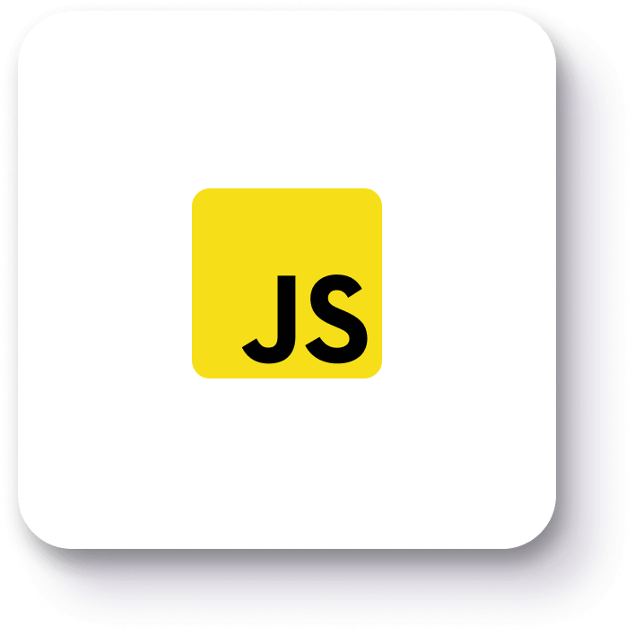 Our full-stack JavaScript developers are here to help you with your project!