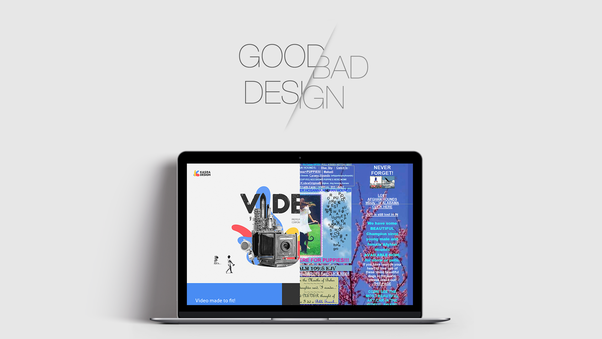 Good Design Affects Users' Trust