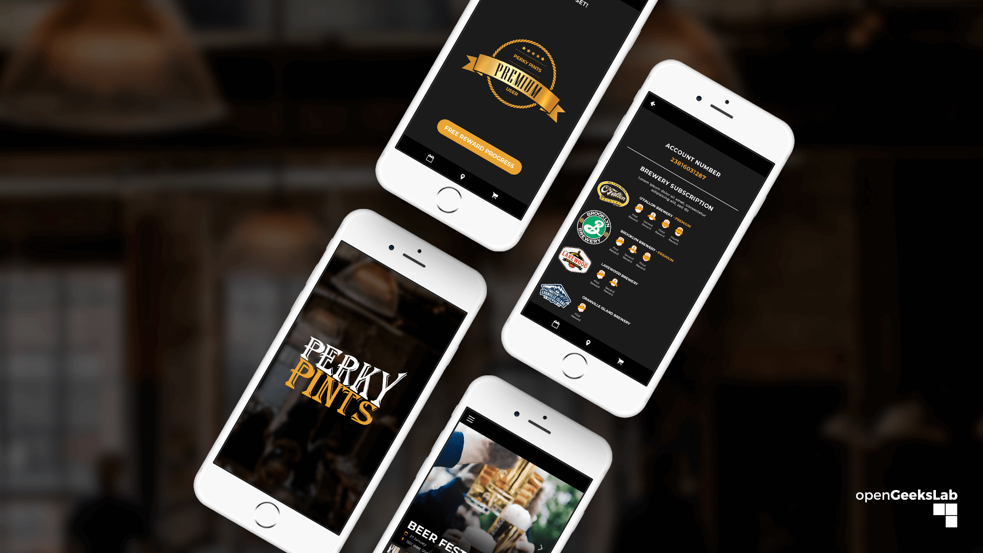 Perky Pints Customer Loyalty App