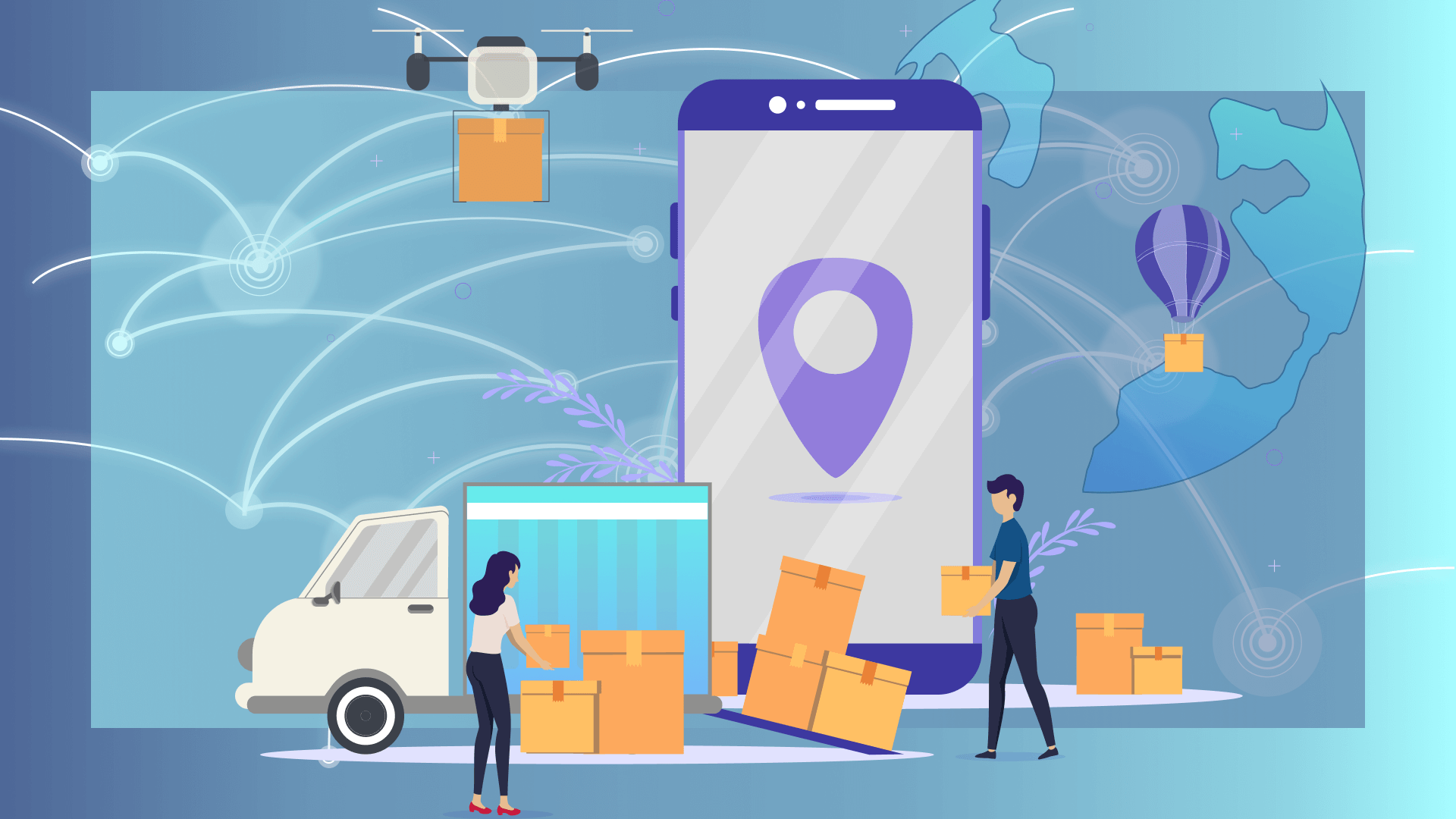Logistics Mobile App Development