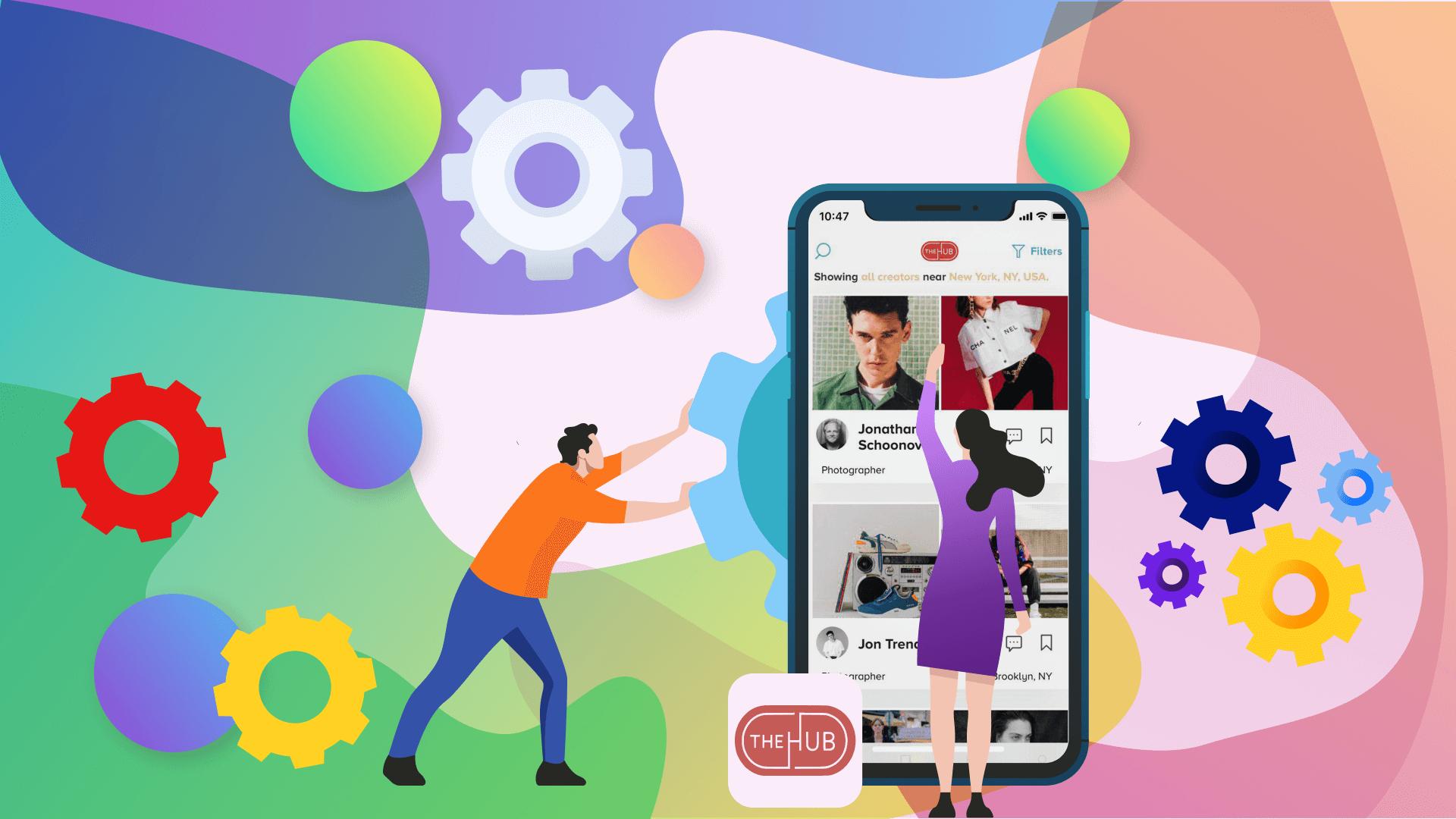 the H Hub Social Media Platform