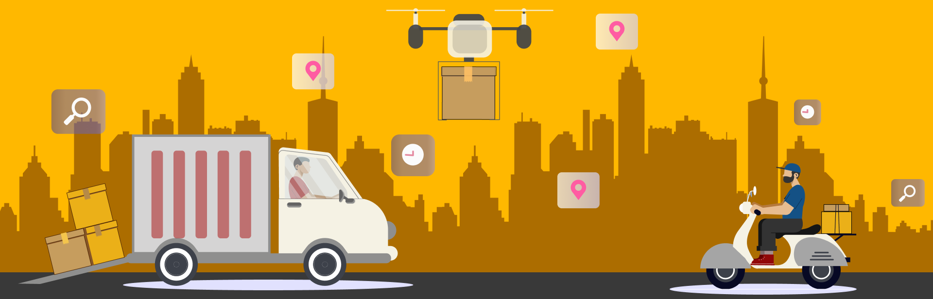 Applying IoT to Real-Time Delivery Management