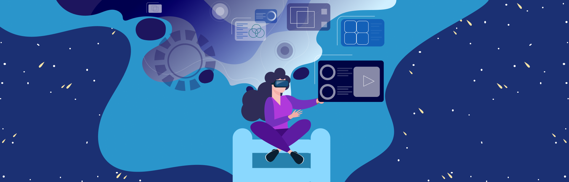 Distance Learning with VR
