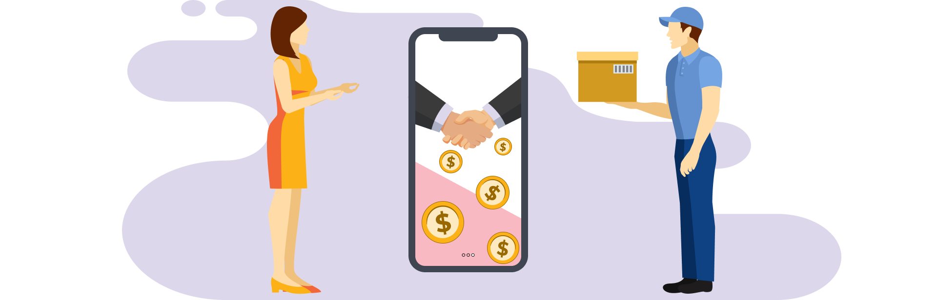 Getting a part of every payment completed on the platform, commission charging becomes one of the most lucrative revenue models.