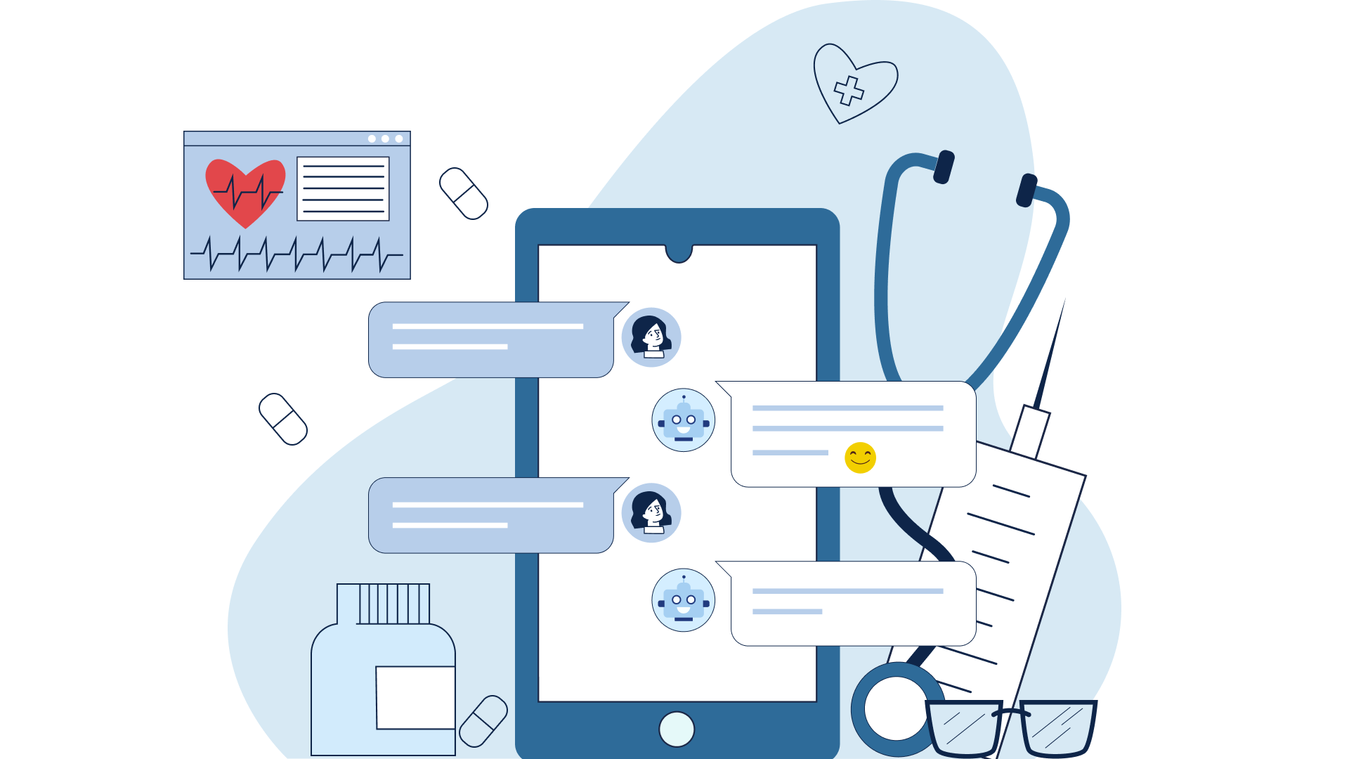 Medical chatbots are gradually coming into doctors' daily practice and help in solving many issues.