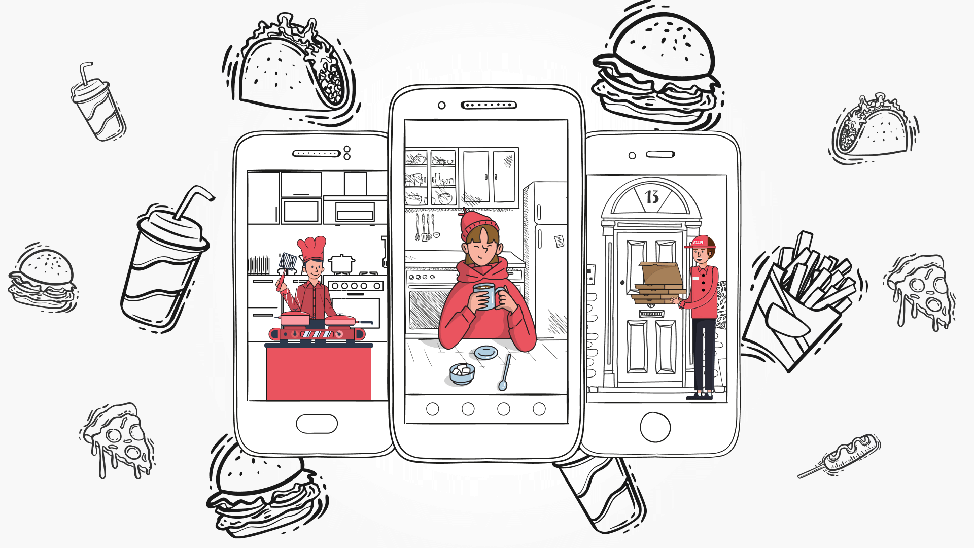 Key features to implement into good on-demand food delivery app.