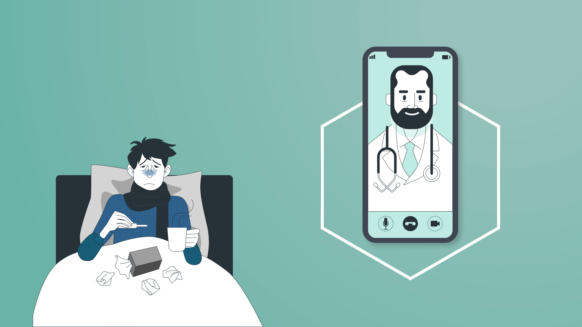 Our experience in telemedicine app development.