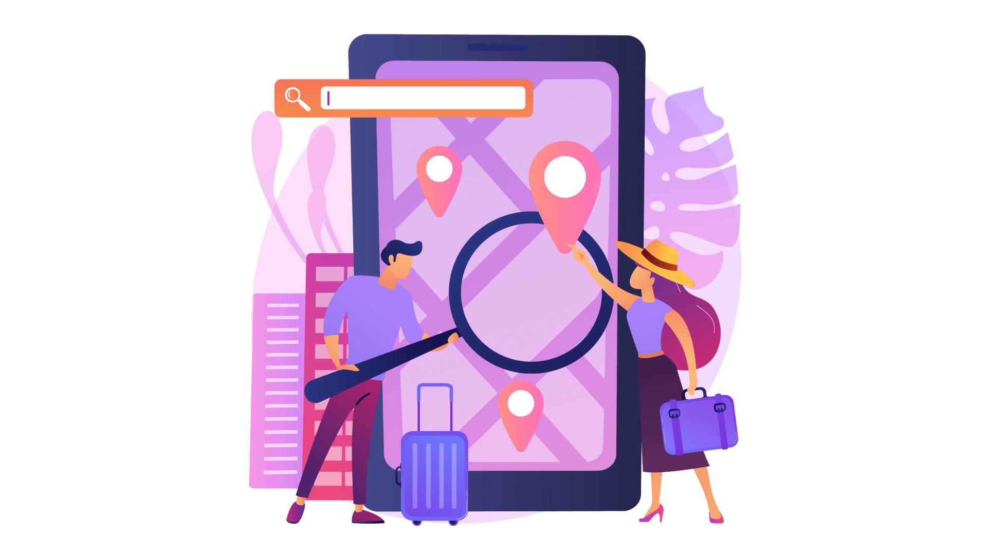 How location-aware mobile apps revolutionize digital services.