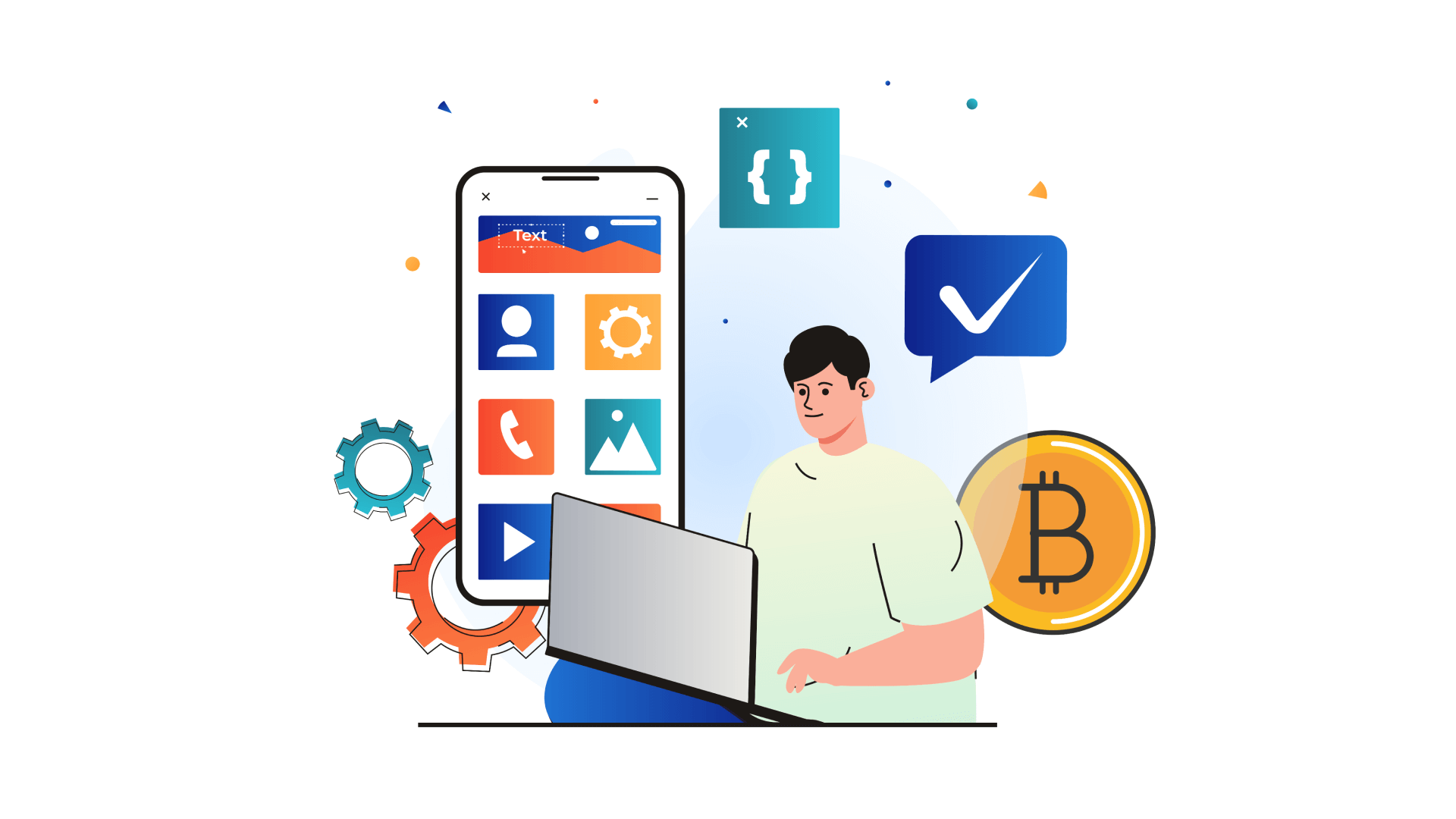 The blockchain development team is a complicated mechanism where all members work together to help you achieve your business results.