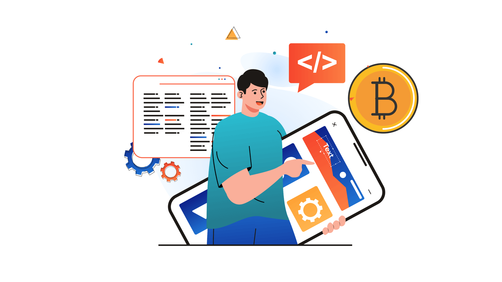 The proper allocation of resources is an essential step for a healthy blockchain app development process.