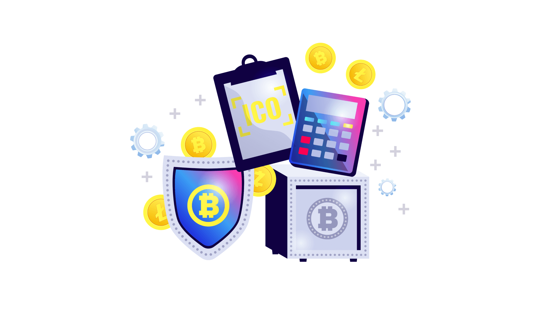 An ICO works like regular crowdfunding, but for digital assets.